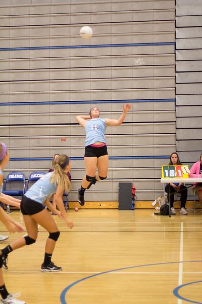 Madi Rosenthal - GRHS Volleyball 2014