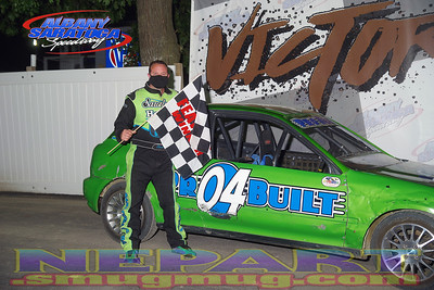 Albany-Saratoga Speedway - 7/17/20 - Mark Brown