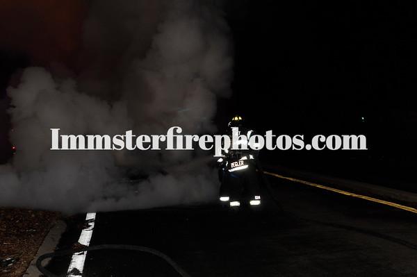 SYOSSET CAR FIRE