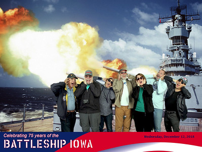 2018 USS Iowa Battleship