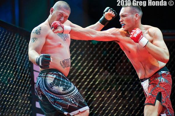 Matt Eaton vs Wilmar Cruz