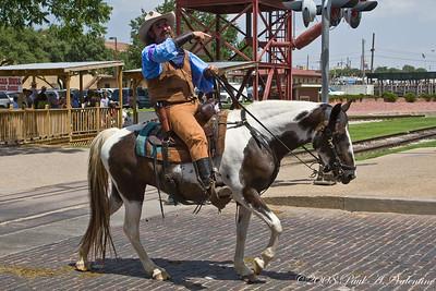 Stockyards Cowboy Day 07-26-08