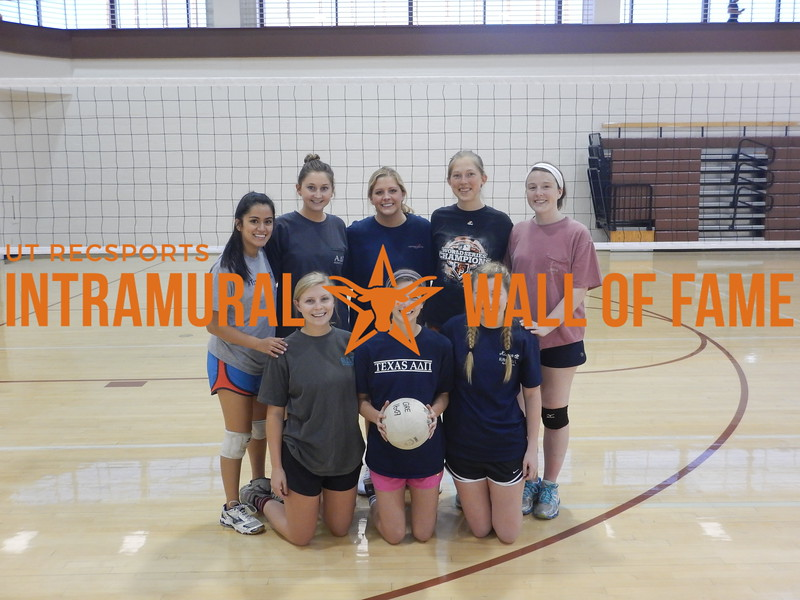 Spring 2016 Volleyball Women's B Runner Up add pie