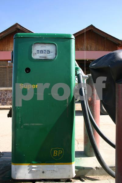 Petrol pump in Uganda