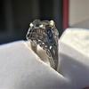 Art Deco Sapphire and Diamond Mounting 6