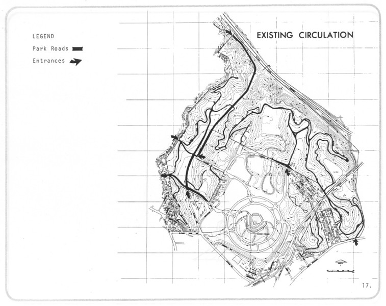 1971, Existing Circulation Map