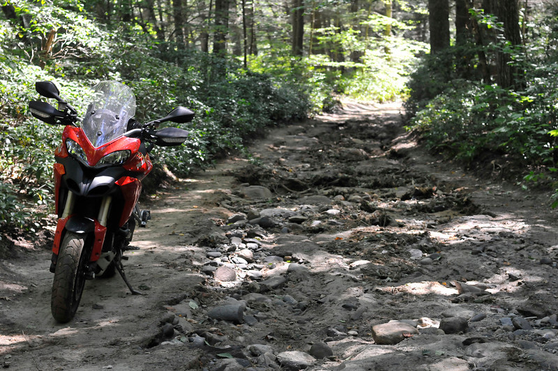 Multistrada 1200 - Western Ma, USA, Chesterfield Gorge - by Ducati.ms member 'oneswithfunes' (aka Eric P)