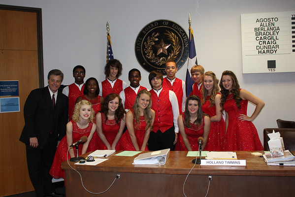 Harmony Performs for SBOE (May 2010)