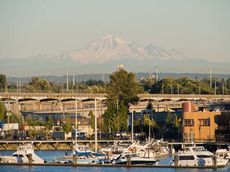 Mount Baker, viewed from Vancouver
