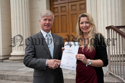 Trinity College London,Joanne Muldrew,LTCL in Instramental and Vocal Teaching Diploma,presented by Mr Brian Husband,Examiner from the College.R1425704