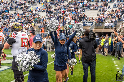 Penn State vs Maryland Lionette Photos