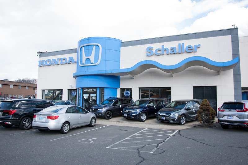 03/19/19  Wesley Bunnell | Staff  The main entrance to Schaller Honda in New Britain.