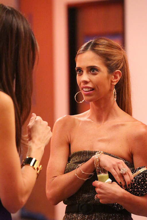 """. REAL HOUSEWIVES OF ORANGE COUNTY -- \""""All Housewives Party At Tamra\'s\"""" -- Pictured: Lydia McLaughlin -- (Photo by: Evans Vestal Ward/Bravo)"""