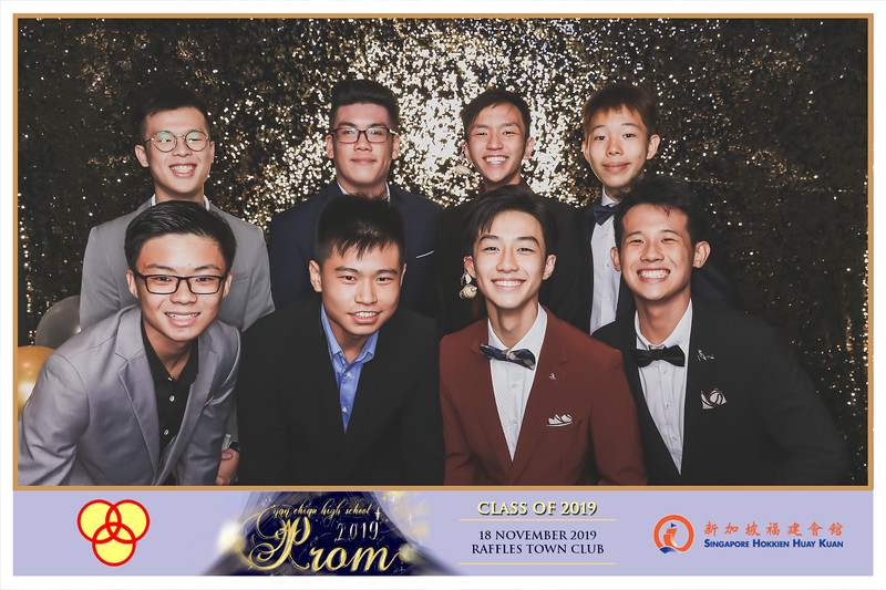 Nan Chiau High School 2019 Prom Night | © www.SRSLYPhotobooth.sg