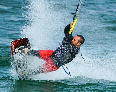 Pompano Beach Kite surfers