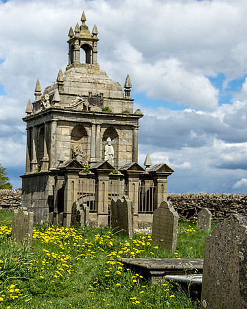 Hopper Mausoleum and St Andrew's Church