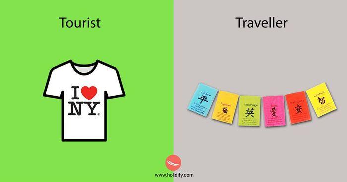 游客和旅行者的区别 - 一镜收江南 - 清韵