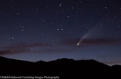 June Lake, Bodie, Milky Way & Comet