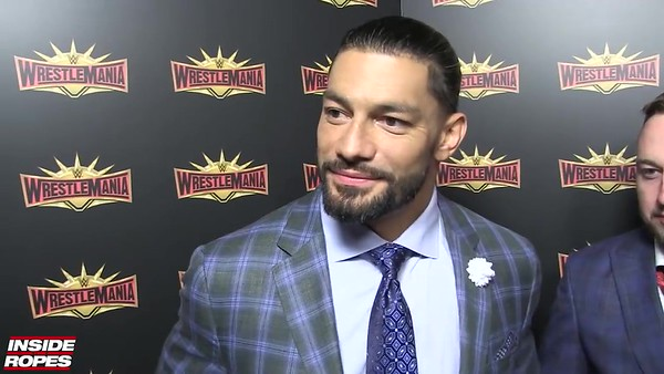 Roman Reigns - Screencaps / Interview Inside the Ropes