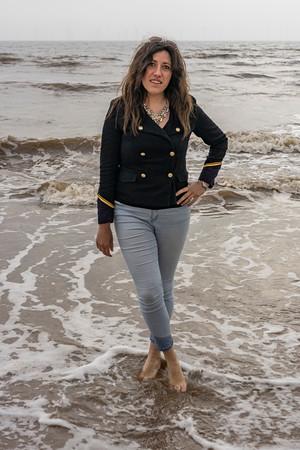 Danielle ges to the beach