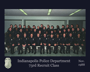73rd Recruit Class Group for M Hegg
