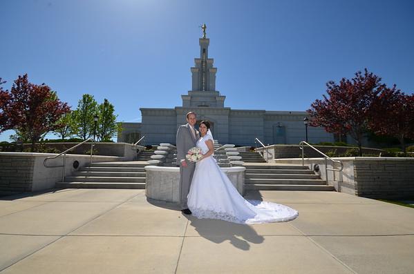 Brendan & Venus  Columbia River Temple Wedding