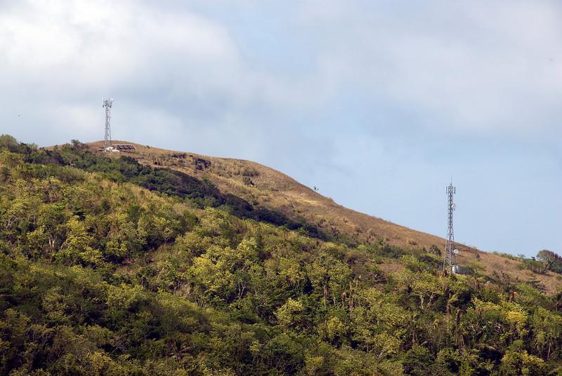 Mountainside in Yasawa Islands, Fiji