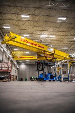 Canadian Crane Install