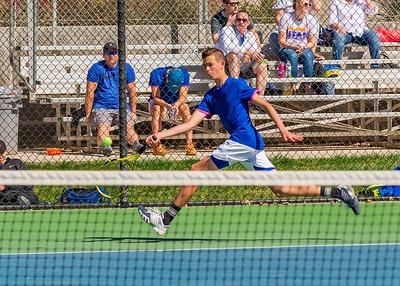 2019-03-22 Dixie HS Tennis - 3rd Singles
