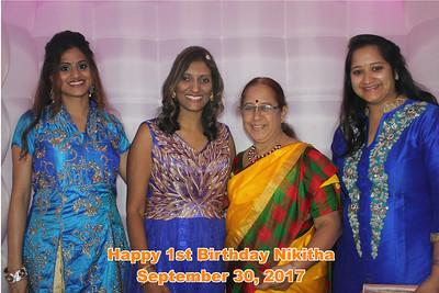 Nikitha's 1st Birthday 9-30-17