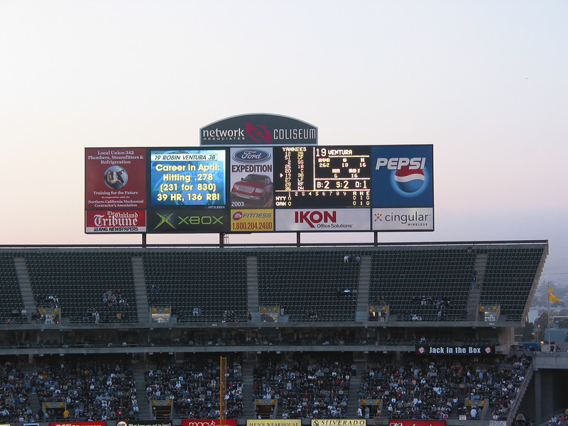 April 23-15 Yankees v Oakland