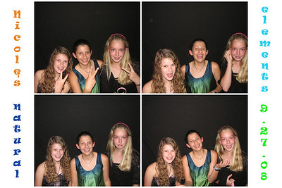 Nicole's Bat Mitzvah September 27th, 2008
