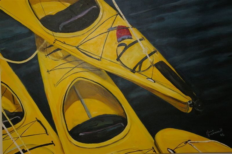 Yellow Kayaks SOLD