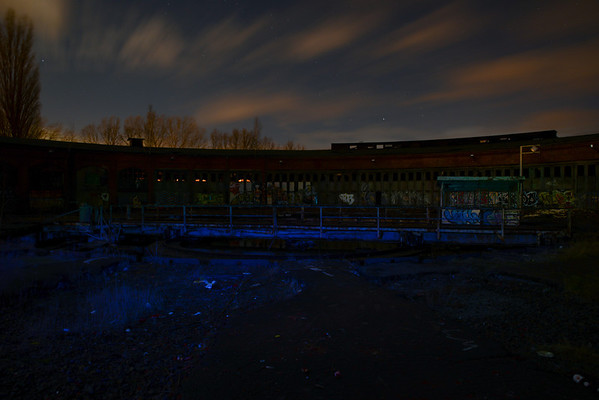 2014-01-11 - Lost Place Train Depot Heinersdorf