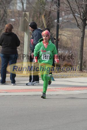 On Course 5K & 1 Mile - 2013 Lucky Leprechaun
