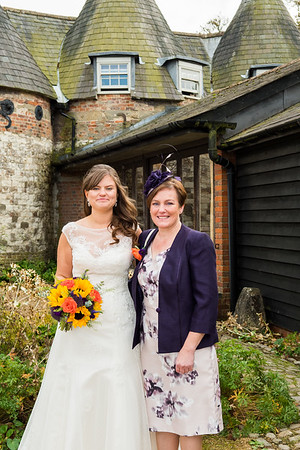 Angie&Anthony's Wedding Day Bury Court Barn Bentley Hampshire