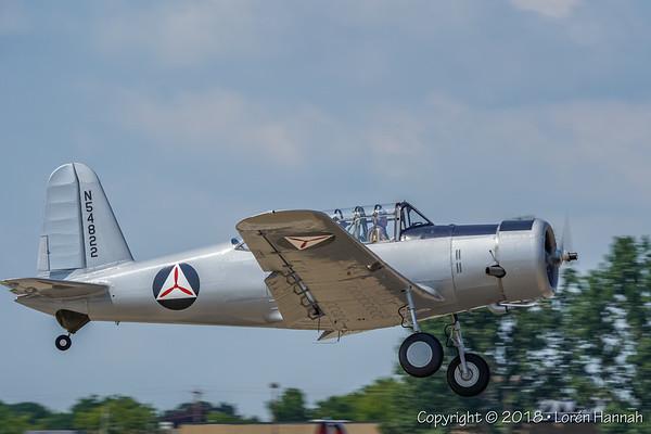 7/22/18 Sunday Arrivals - EAA AirVenture - Oshkosh, WI