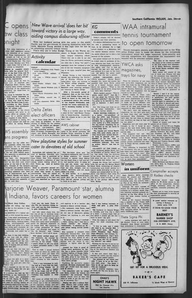 The Trojan, Vol. 35, No. 76, January 24, 1944
