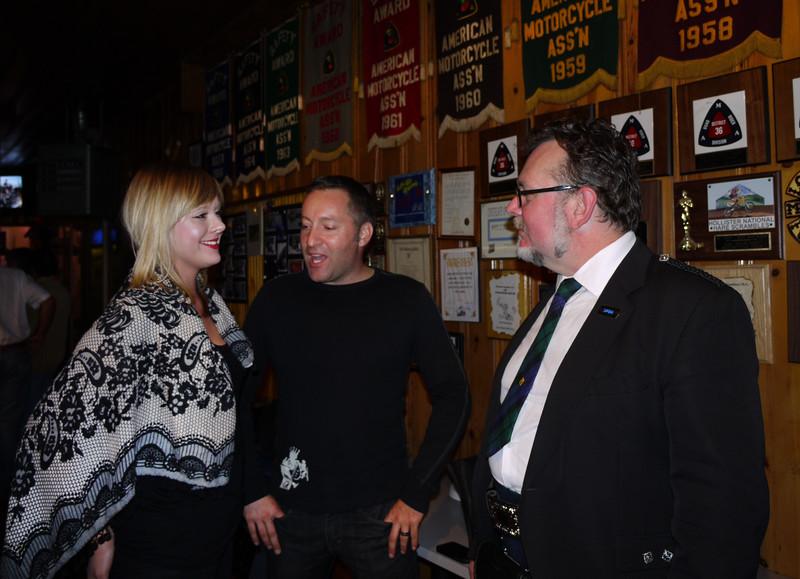 Lenka, Todd and Harley.