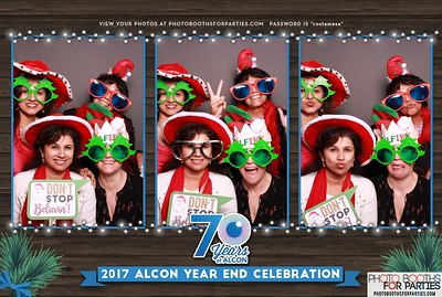 2017 Alcon Year End Celebration (Left Booth)