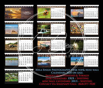 2020 Calendars on SALE!!