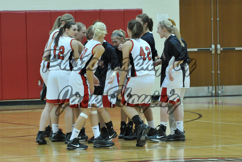 Fort Loramie Girls High School Basketball 12-18-2008