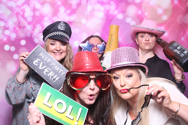 Photo Booth Hire -  Claire's 50th Birthday
