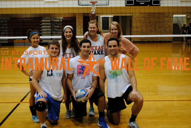 SUMMER VOLLEYBALL Runner Up  Twerk Team  R1: Ted Williams, Zachary Daw, Steven Haspel R2: Jennifer Rojas, Katelyn Deibert, Sarah Benoist, Casey Powers Not Pictured: Jeremy Gatson