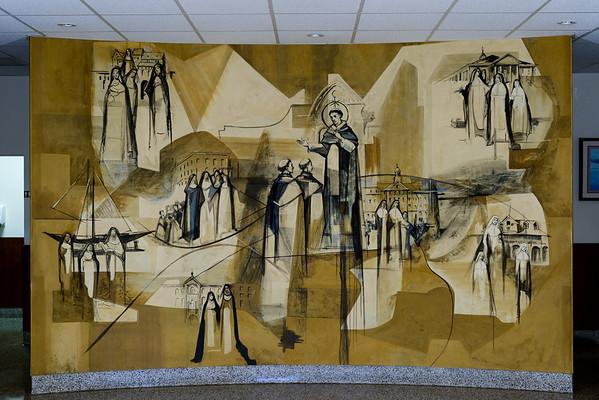 Mural Rosary Hall 11/2015