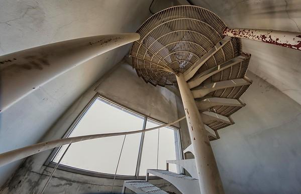 at an abandoned office tower, Din Dang District, Bangkok, Thailand