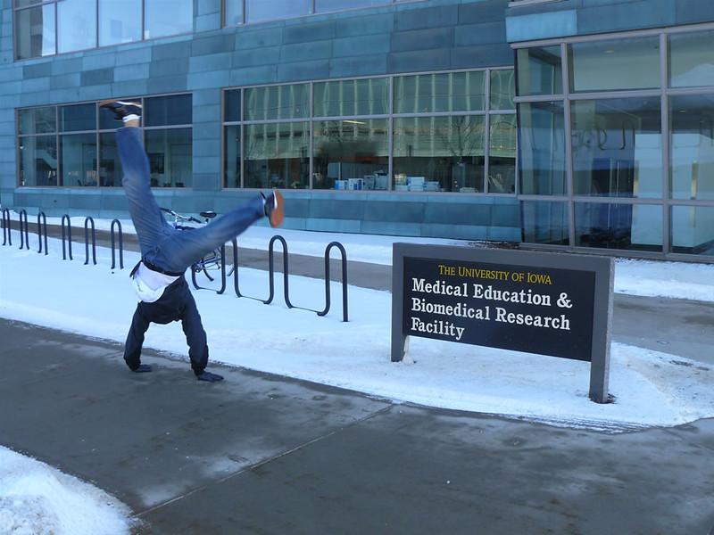 Armando Calderon - Carver College of Medicine, Iowa City, Iowa