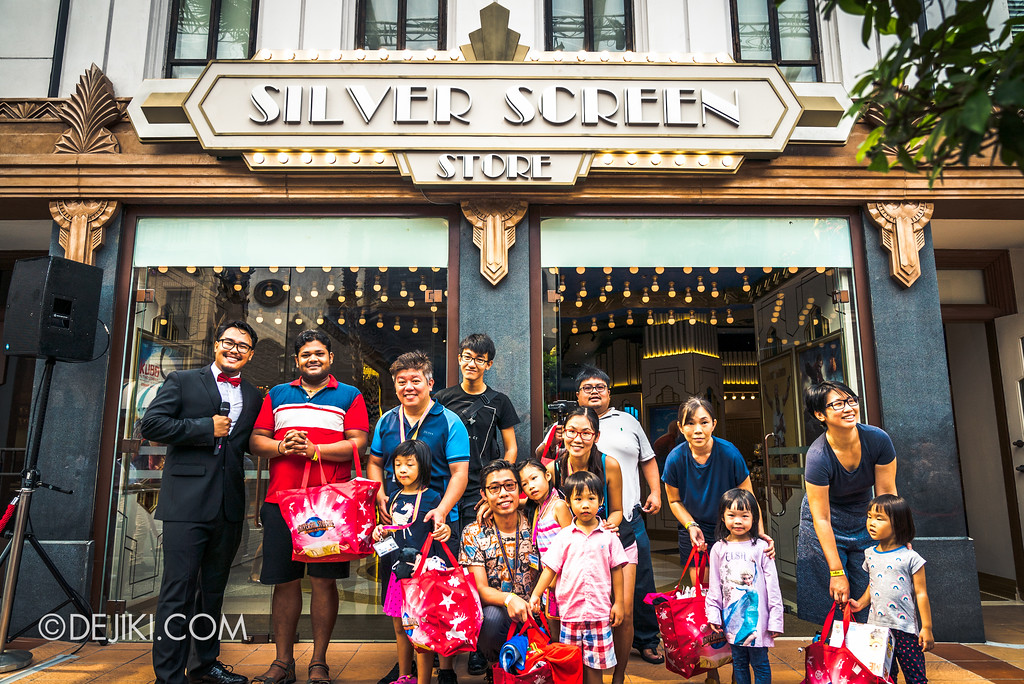 Universal Studios Singapore - Silver Screen Store - Shopping Spree winners