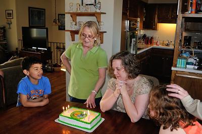 Rae and Cheryl's Birthday - 2013