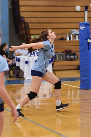 JV volleyball 2019